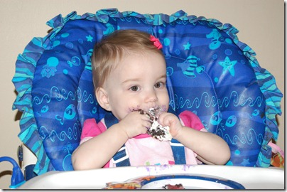 Baby Girls first birthday 2010-01-20 058