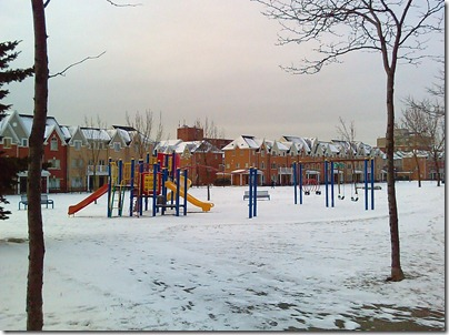 Project 365-006: Playground in Winter