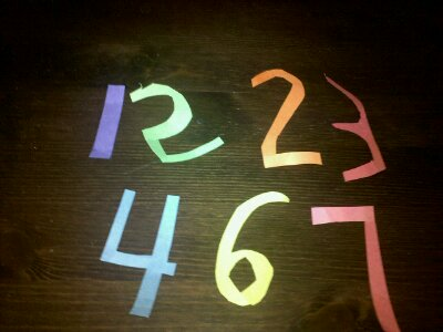 Project 365-148: Numbers