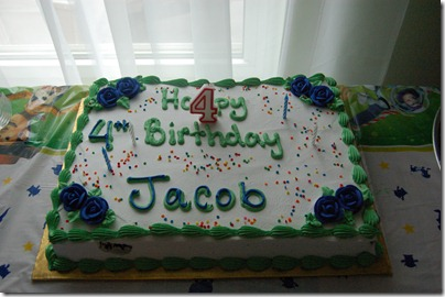 Jacobs 4th Birthday Party