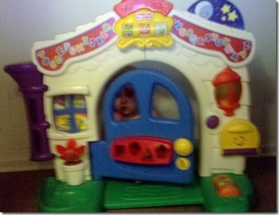 Project 365-230: Playing  House