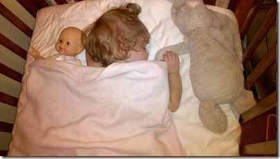 Project 365-254: A baby with her baby