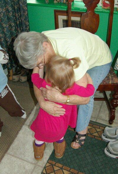 Project 365-247: Hugging Nanny