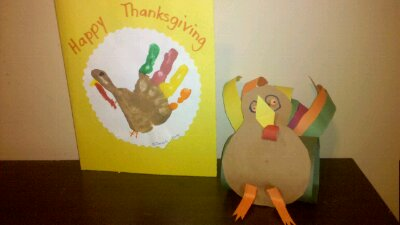Project 365-281: Thanksgiving Art