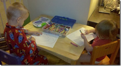 Project 365-329: Colouring Time