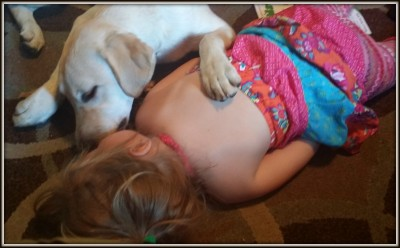 VioletAndRunbySleeping