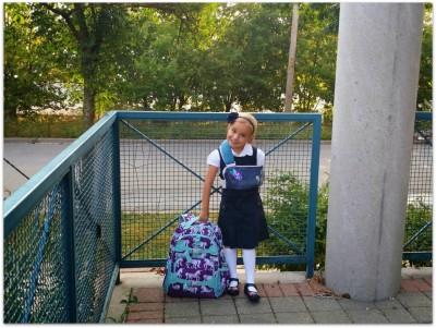 Violet-FirstDayOfSchool